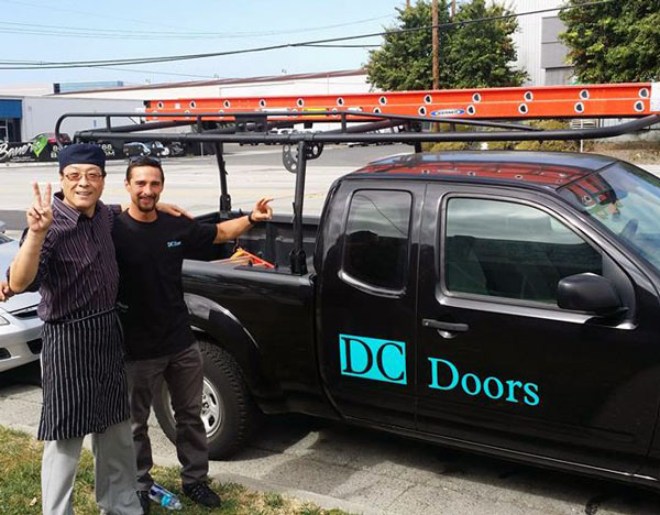 Dc doors door repair san jose overhead doors south bay for Garage door repair santa cruz